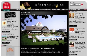 Web design Hotel IBIS Beaune